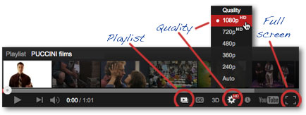 How to set video player