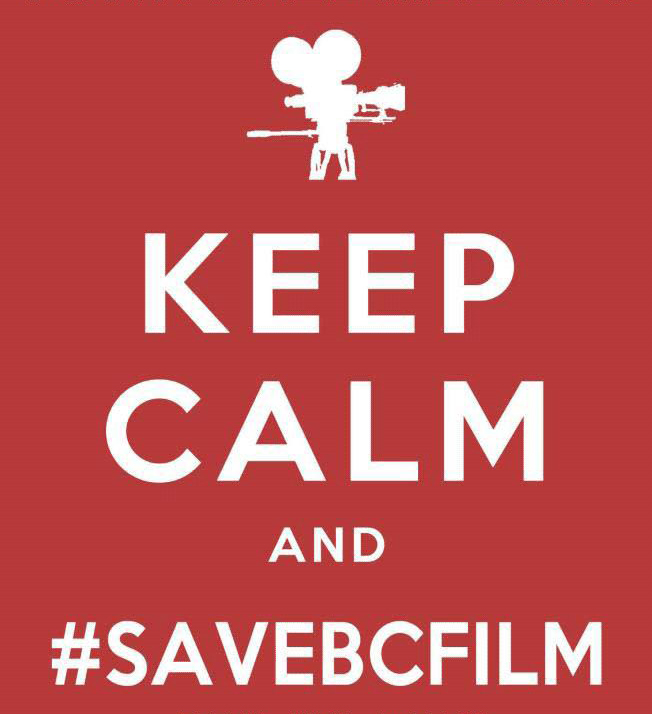 keep calm save bc film